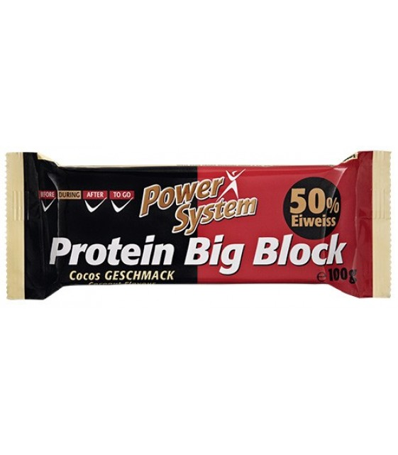 Big Block Protein Bar, Биг блок, батончик 100 гр