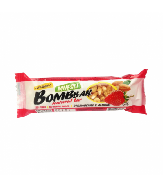 BombBar Muesli Bar Мультизлаковый батончик BombBar 45 гр.