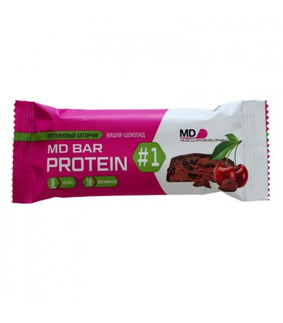 MD BAR protein протеиновый батончик вишня-шоколад 50 г MD