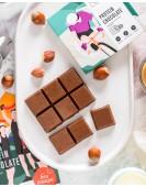 Молочный шоколад со стевией и фундуком 50 г О12