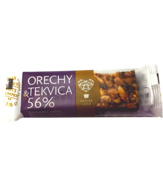 Батончики ореховые Арахис+тыква, 35 гр Tekmar