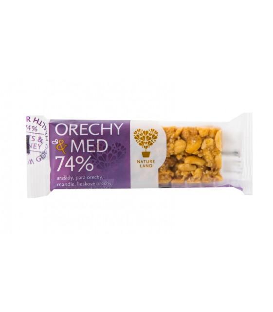 Батончики мюсли арахисовые с медом, 40 гр