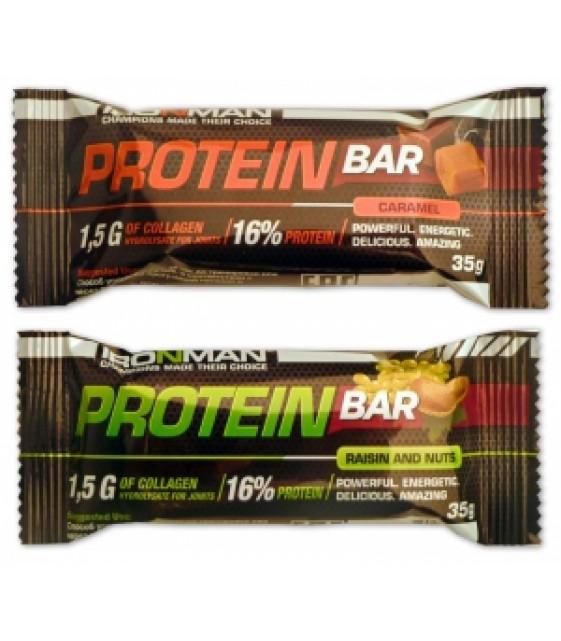 Protein Bar Протеин бар с коллагеном, 35 гр. Ironman