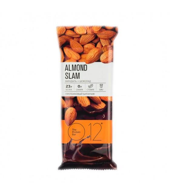 Вафельный протеиновый батончик О12 миндаль + шоколад 50 г O12