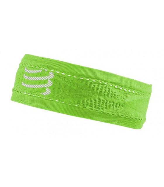Повязка на голову ON/OFF Зелёная узкая