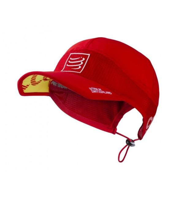 Беговая кепка ультралёгкая Красная