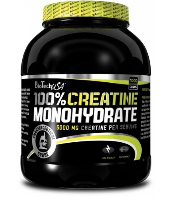 100% Creatine Monohydrate, Креатин Моногидрат 1000 гр