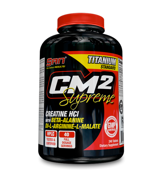 CM2 Supreme, креатин 240 табл SAN