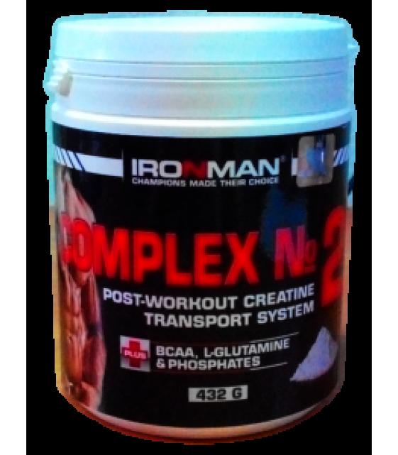 Комплекс №2, с креатином 432 гр. Ironman