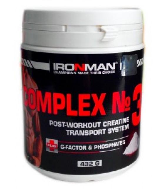 Комплекс №3, с креатином 432 гр. Ironman