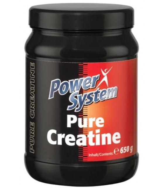 Pure Сreatin, Пьюр Креатин 650 гр Power System