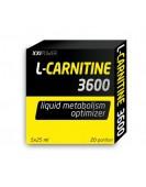 L-Carnitine 3600, L-карнитин 5 амп./25 мл XXI Power