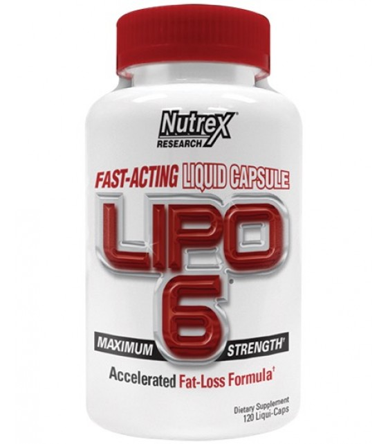 Lipo-6 Липо-6, 120 капс Nutrex