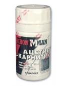 Ацетил L-карнитин 300 мг , 60 капс Ironman