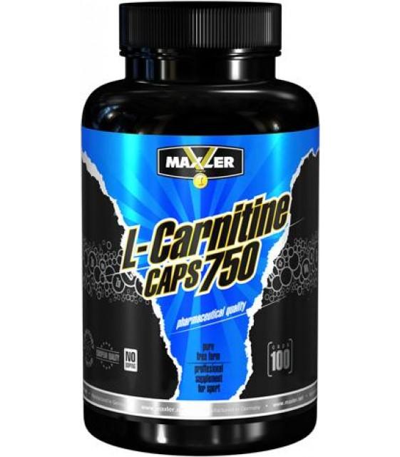 Maxler L-Carnitine Caps Л-Карнитин 750 мг