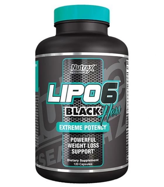Lipo 6 Black Hers Липо 6 Блэк женские, 120 капс