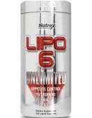 Lipo-6 Unlimited Липо-6 Анлимитед, 120 капс Nutrex
