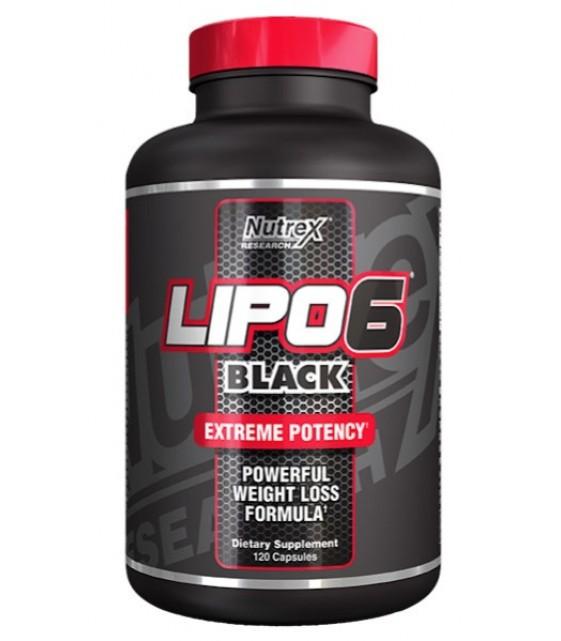 Lipo 6 Black Липо 6 Блэк, 120 капс. Nutrex
