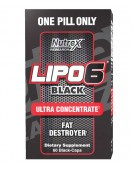 Lipo 6 Black Ultra Concentrate, 60 капс Nutrex