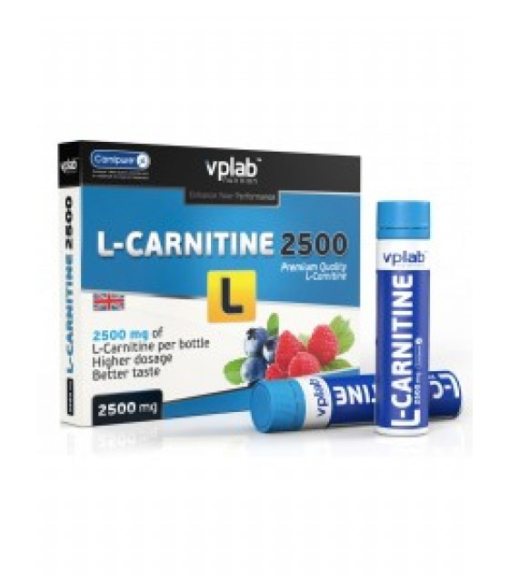 L-Carnitine Liquid 2500 Л-карнитин жидкий, 7 амп