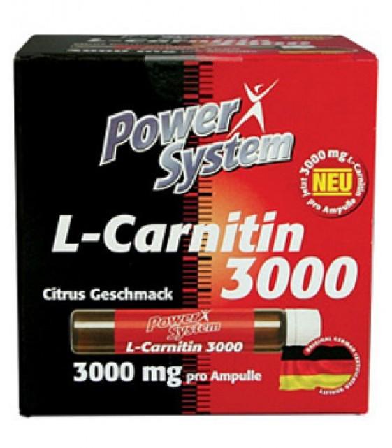 L-Carnitine Ampullen 3600 L-карнитин в 20 амп.Power System