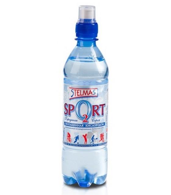 Кислородная вода Стелмас О2 спорт, 500 мл