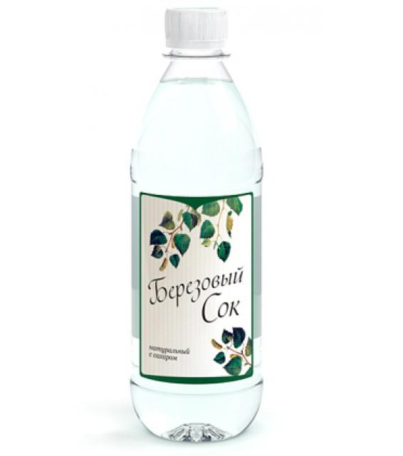 Березовый сок натуральный, 500 мл в ассортименте