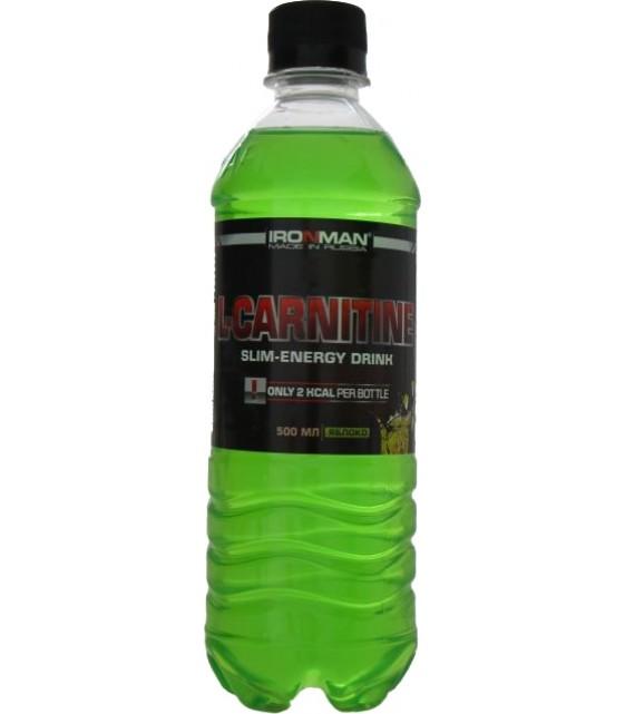 L-CARNITINE Л-карнитин напиток 500 мл. IRONMAN