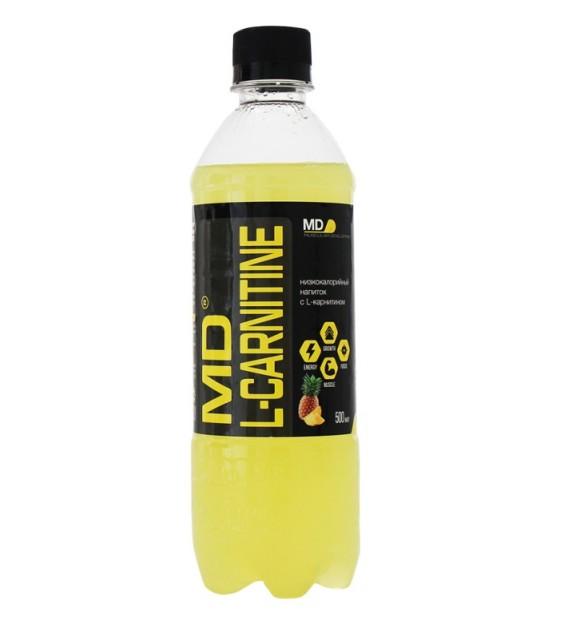 MD L-Carnitine Напиток L-карнитин ананас-грейпфрут 500 мл MD