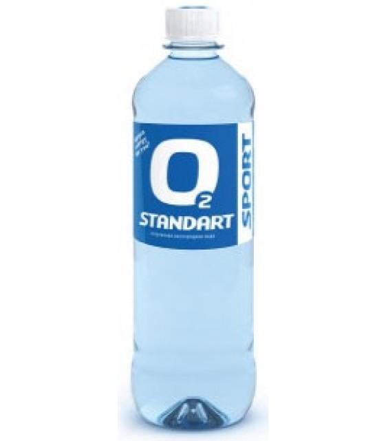 Спортивная вода Standart O2 Sport, 750 мл