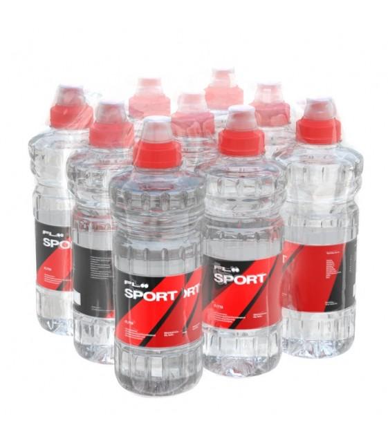 FLOO SPORT c pH 7,8 Вода минеральная природная негазированная, обогащенная Био-Селеном, 9х0,75 л sport lock
