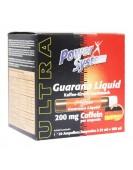 Guarana Liquid, 200 мг+коффеин, 20 амп/25 мл