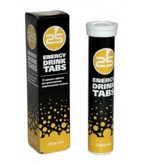 Energy drink tabs Энерджи Дринк 15 шип табл 25H