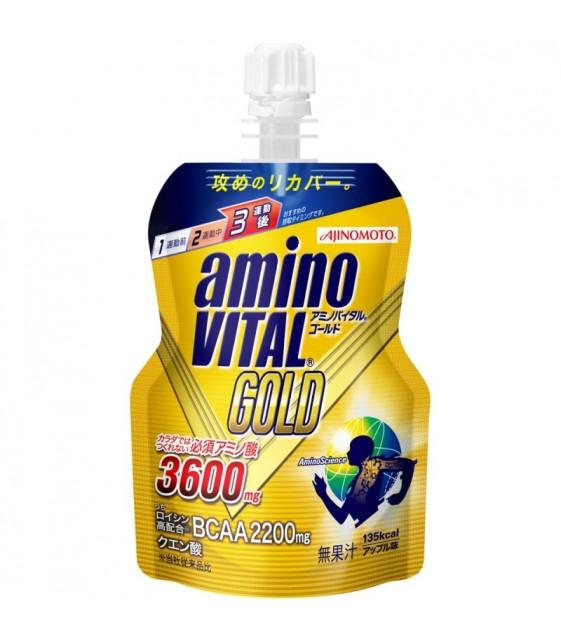AMINOVITAL GOLD JELLY со вкусом яблока 135 г, AMINOVITAL
