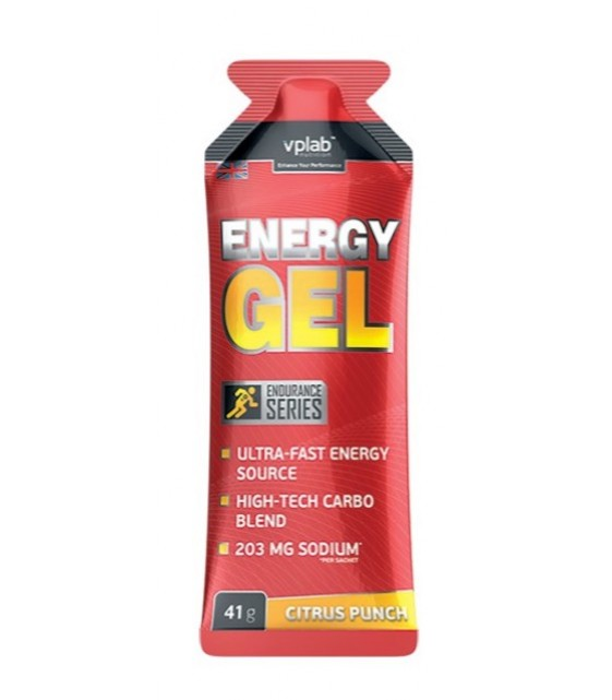 Energy Gel Энерджи гель, цитрус, 41 гр. VPLab
