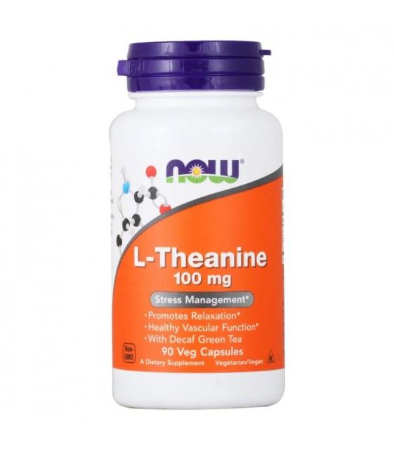 L-Theanine, L-Тианин 100 мг  90 кап. NOW
