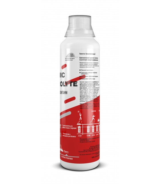 Isotonic Electrolyte Cherry 500ml