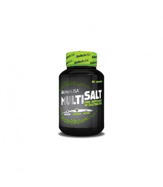 MultiSalt солевые капсулы с электролитами, 60 капс. Biotech USA