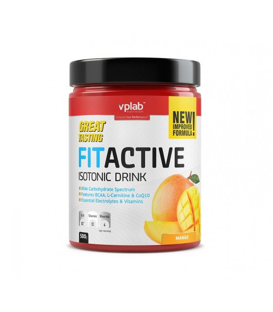FitActive Fitness Drink, ФитАктив 500 гр. VPLab