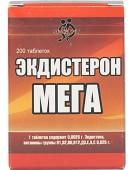 Экдистерон МЕГА, Ecdysterone MEGA, 200 табл Sportpit