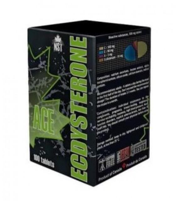Ecdysterone ACE, Экдистерон ACE, 10 мг, 100 табл Neksportek