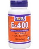 E-400 Витамин-Е 400, 100 гел.капс NOW