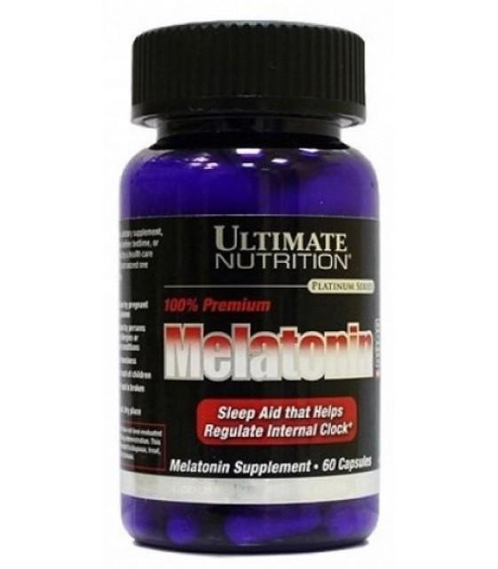Premium Melatonin Capsules Мелатонин капс, 3 mg 60 капс Ultimate