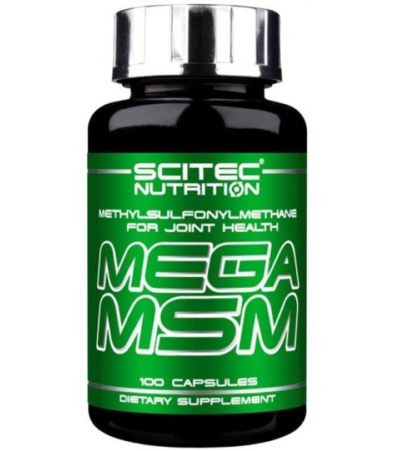 Mega MSM Мега МСМ, 100 капс Scitec Nutrition