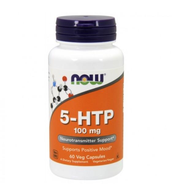 5-HTP  5-гидрокситриптофан 100 мг, 60 капс NOW