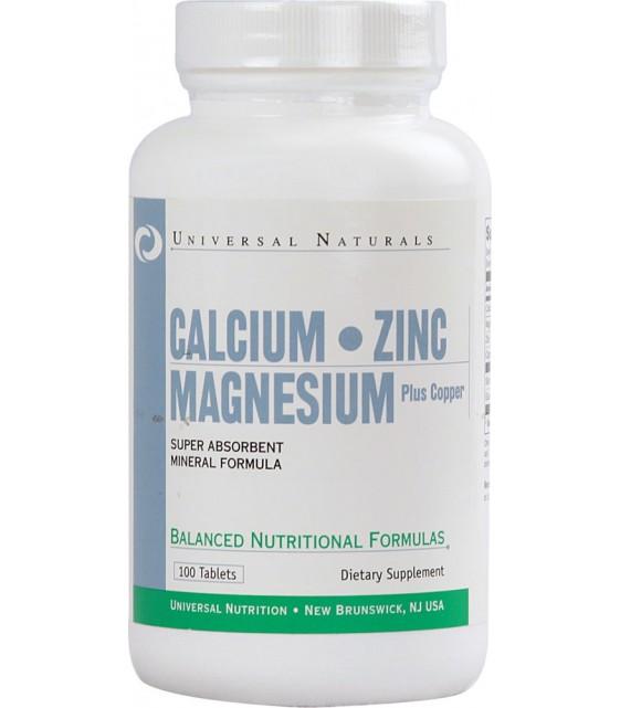 Calcium Zinc Magnesium+Copper/ Кальций Цинк Магний+Медь