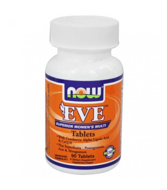 Eve Women's Multiple Vitamin/ Ева Женские мультивитамины 90 таб