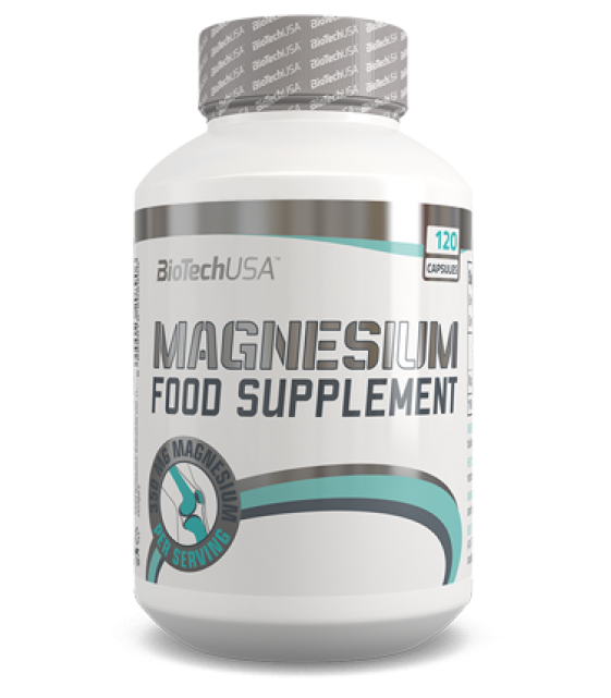 Magnesium/Магний 350 мг 120 капс Biotech USA