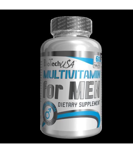 Multivitamin for Men, Мультивитамини для мужчин 60 таб. BT