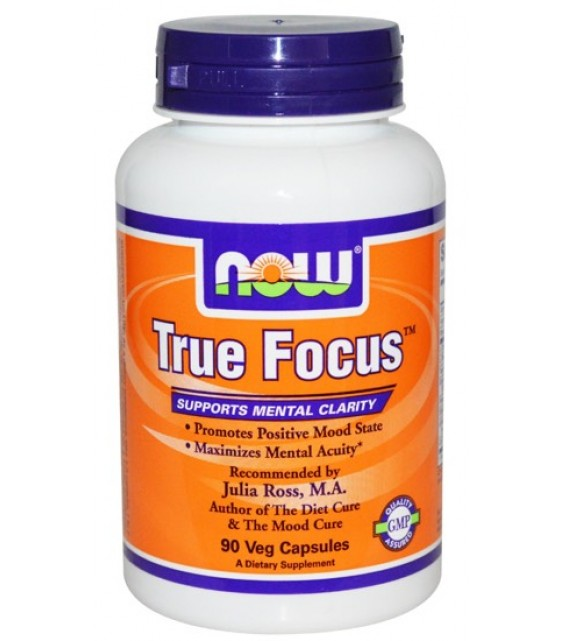 True Focus Тру Фокус, 90 капс, NOW